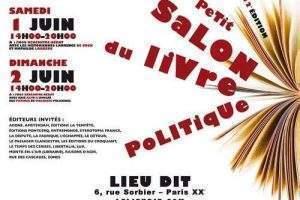 Petit salon du livre politique (affiche)