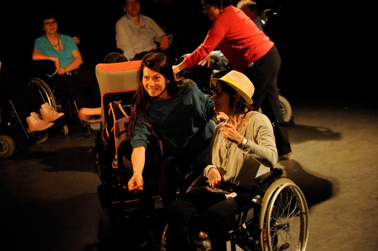 Danse en fauteuil (photo b.prudhommes)
