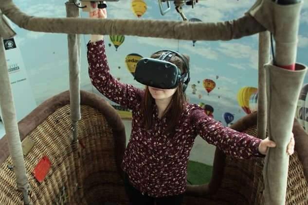 Les vols en réalité virtuelle à l'AéroMusée Pilâtre de Rozier !