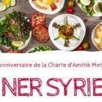 Dîner syrien, affiche