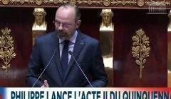 Le Premier ministre devant l'Assemblée nationale le 12 juin 2019 (capture euronews)