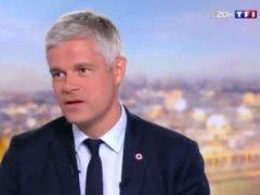 Laurent Wauquiez annonce sa démission au JT de TF1 (capture TF1)