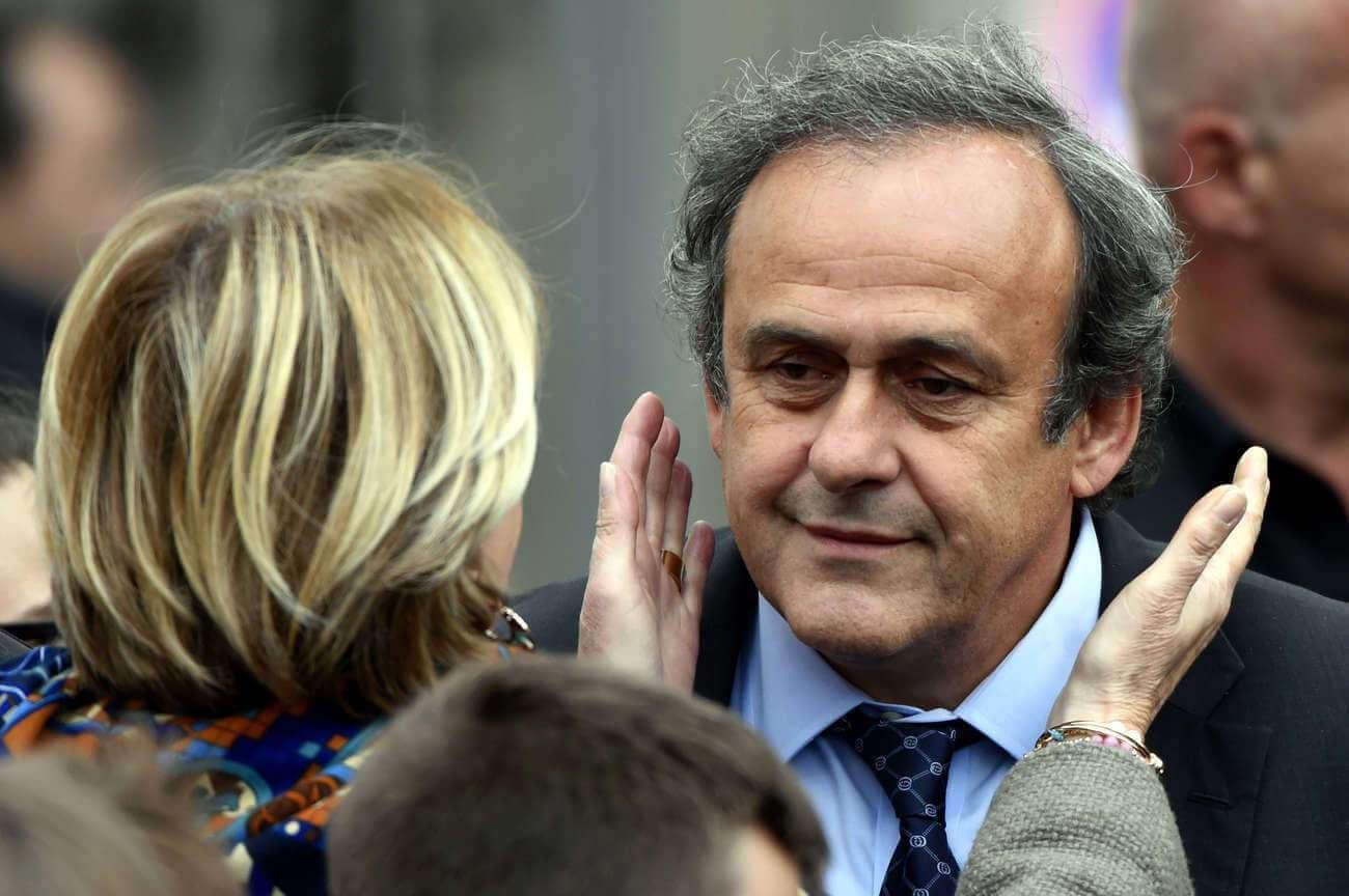 Michel Platini en garde-à-vue