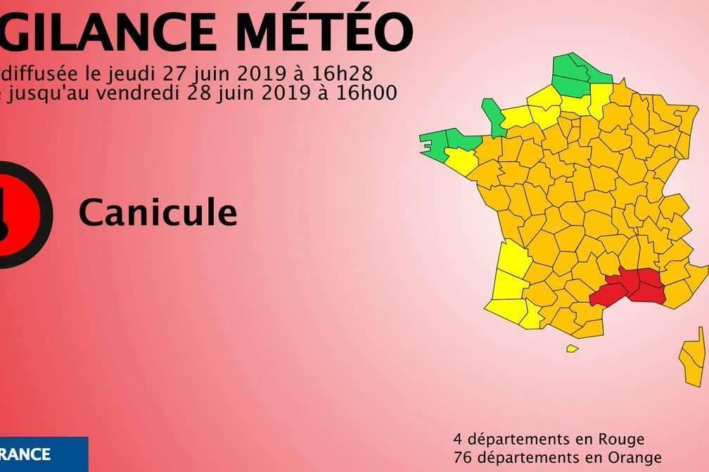Canicule : alerte rouge dans quatre départements du Midi