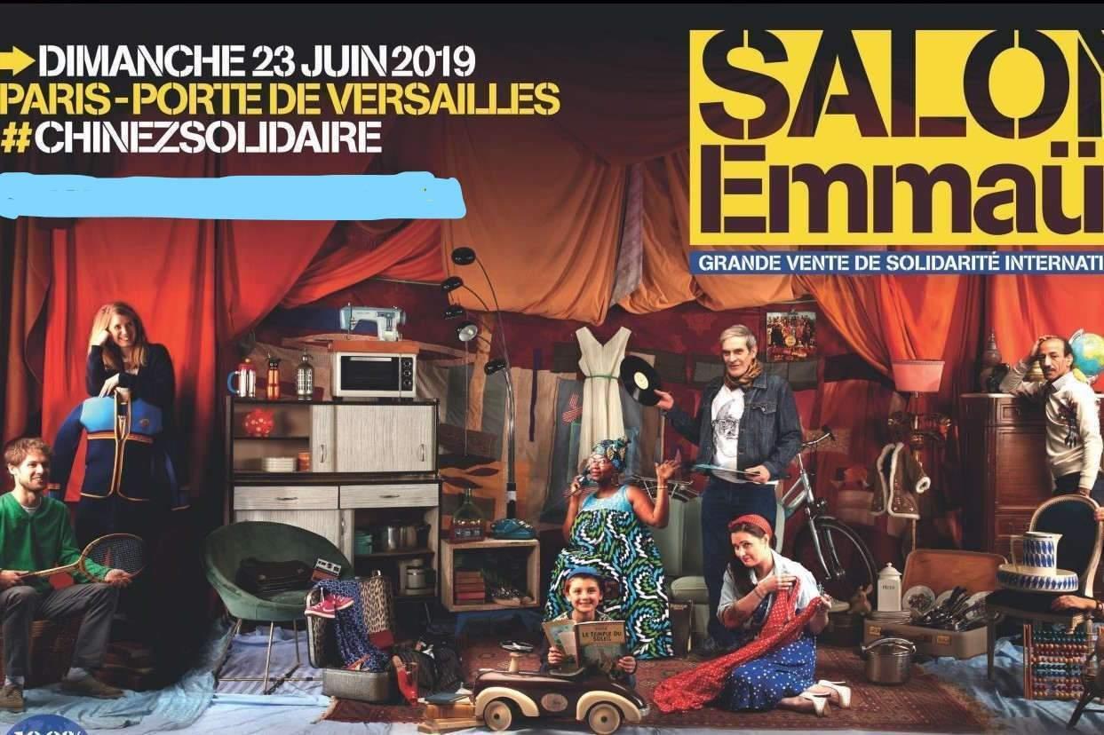 7 groupes du Grand Est au Salon Emmaüs le 23 juin à Paris