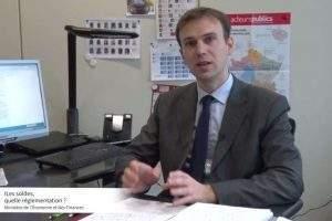 Vincent Designolle, directeur de cabinet DGCCRF (photo Bercy Infos)