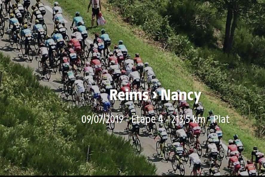 Mardi le Tour arrive à Nancy