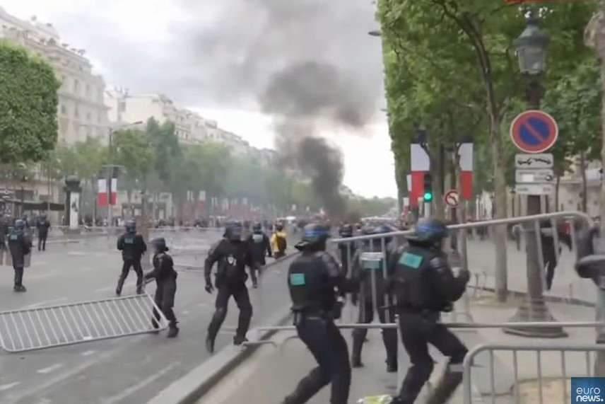 14-Juillet : des incidents sur les Champs