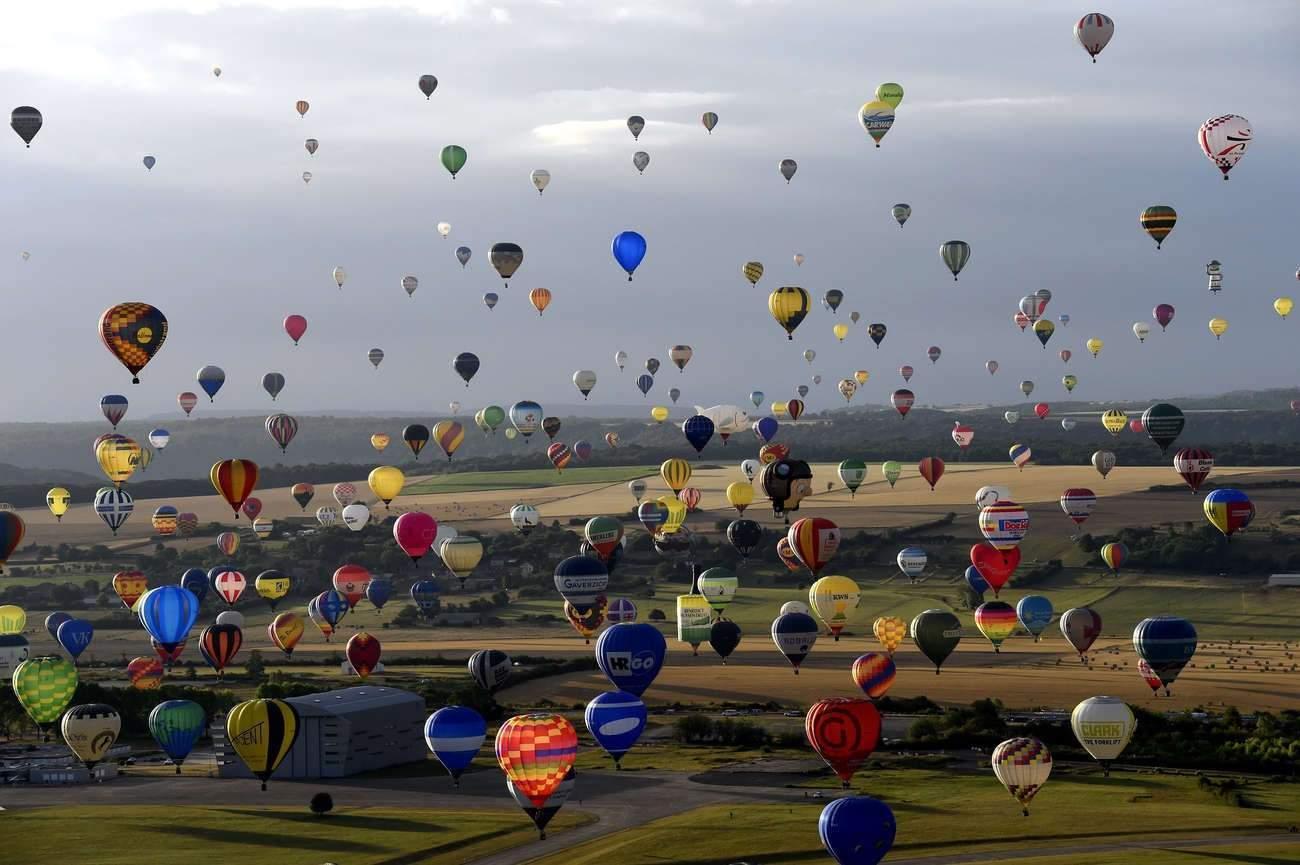 Le plus grand événement de montgolfières au monde