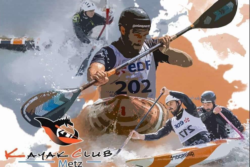 Metz : Championnat de France de Kayak