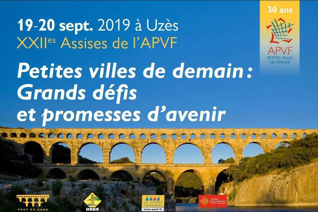 22èmes assises des Petites villes de France à Uzès (30)