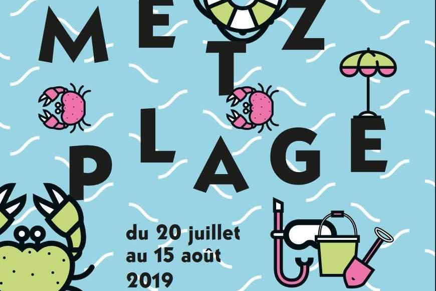 La tyrolienne géante débarque à Metz Plage