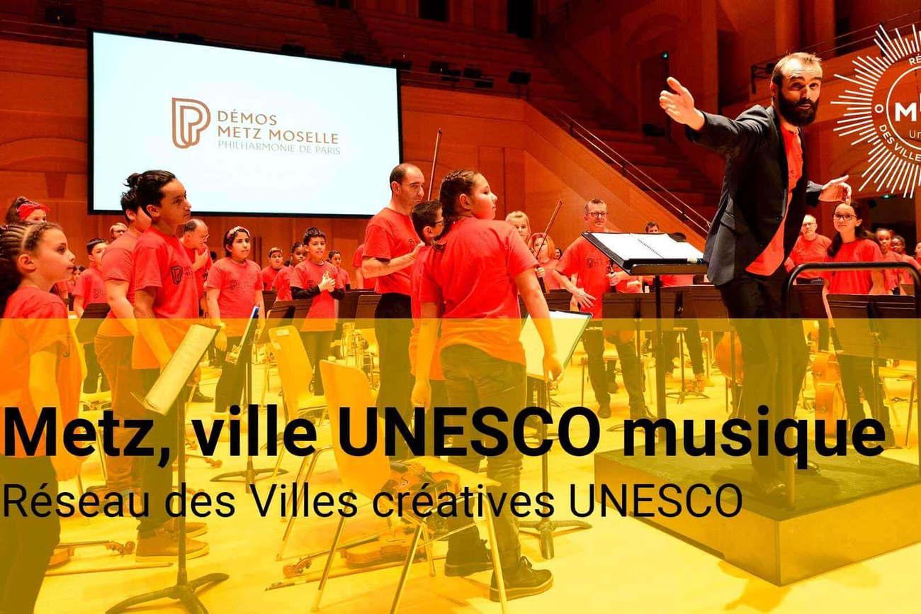 Metz, ville UNESCO musique!