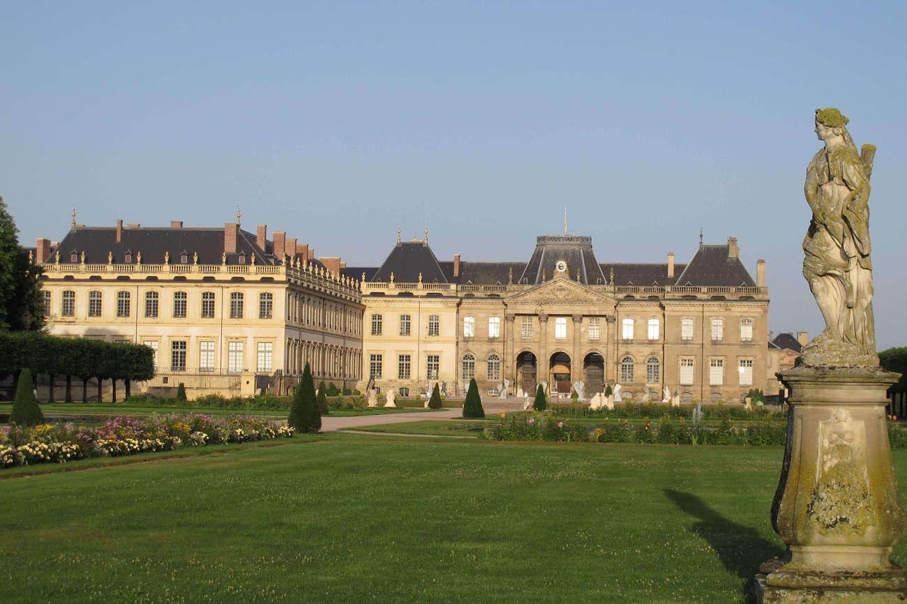 Château de Lunéville, côté Parc (Photo YR)