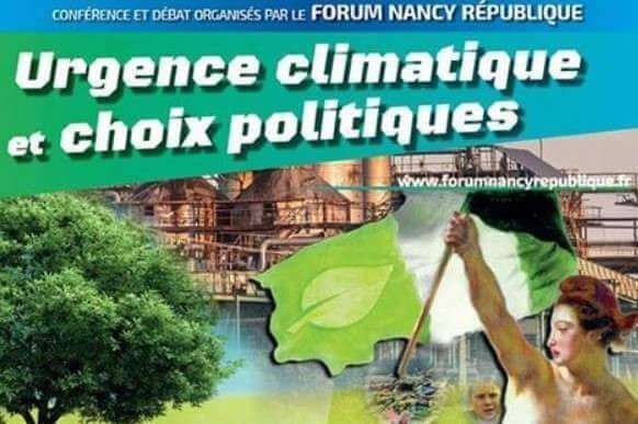 Urgence climatique : un grand forum à Nancy