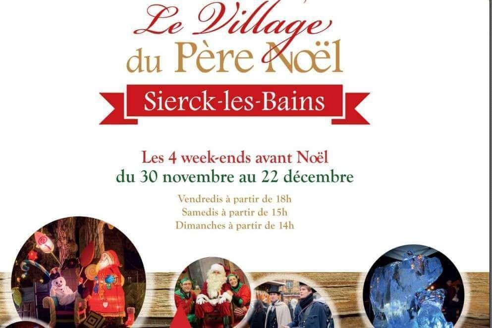 Le Village du Père Noël est de retour…à Sierck-les-Bains (57)