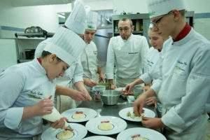Alexis Mathieu et ses élèves - Lycée Stanislas - 54 Villers les Nancy - Cuisine