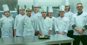 Gaël Vouters et ses élèves - Lycée Stanislas - 54 Villers les Nancy - Cuisine