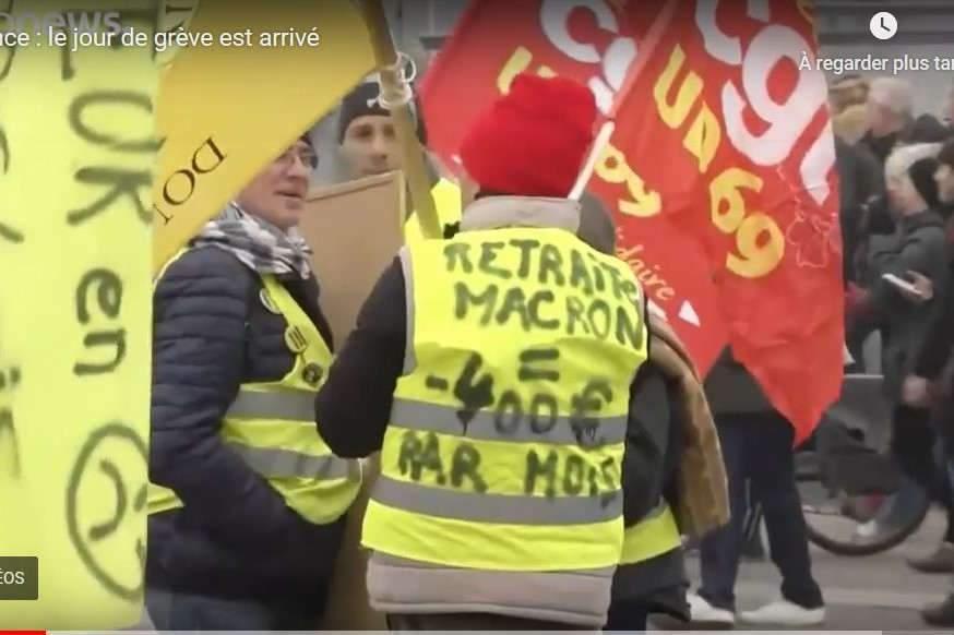 Plus d'un million de Français dans la rue
