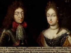 Charles V, duc de Lorraine et son épouse Eléonore de Habsbàurg (wilimedia Commons)
