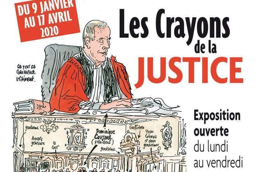 Les Crayons de la Justice s'exposent en Haute-Vienne