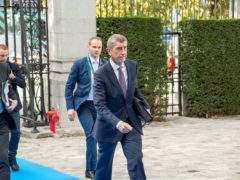 Andrej Babis, le premier ministre de la République tchèque,