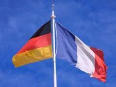 drapeaux français et allemand