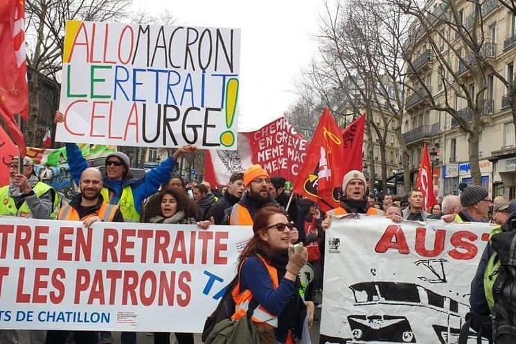 Retraites : manifestations des 3 et 6 février 2020