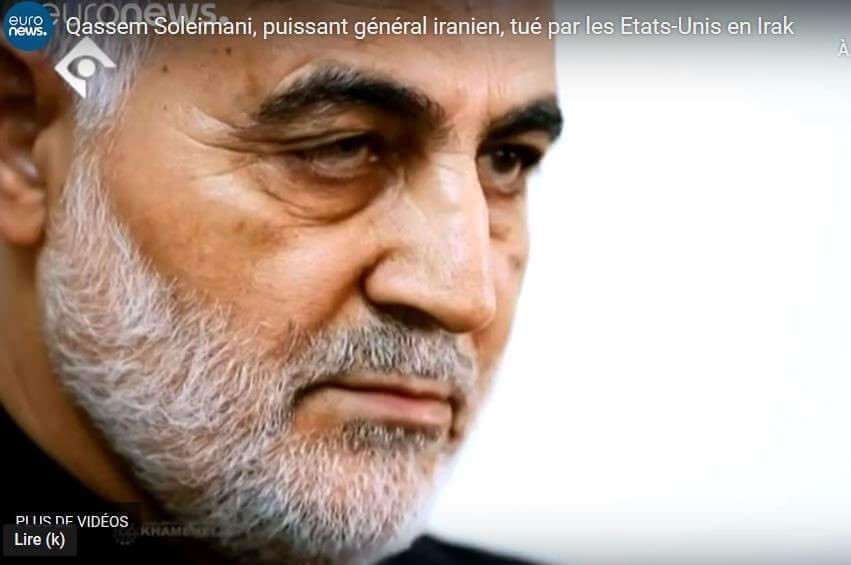 Mort de Ghassem Soleimani : de graves conséquences