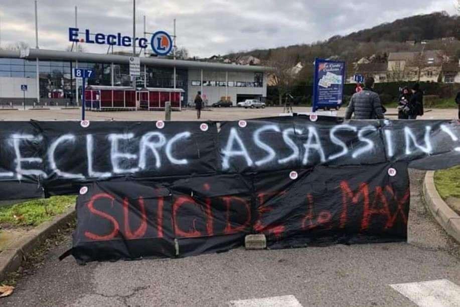 Leclerc de Vandoeuvre (54) fermé après un suicide
