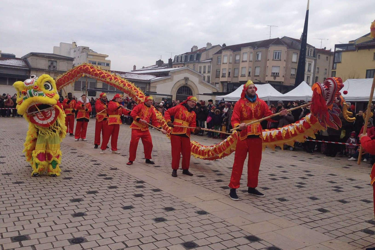 Nancy : un week-end aux couleurs du Nouvel An Chinois