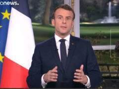 voeux Macron