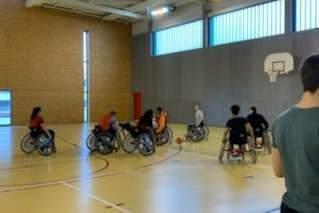 Lycée Chopin de Nancy : sensibilisation au handicap