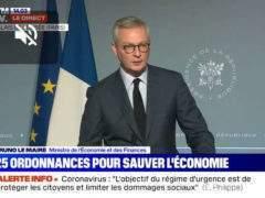 25 ordonnances pour sauver l'économie (BFMTV)