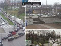 Contrôles à la frontière allemande (Info Trafic Bas-Rhin)