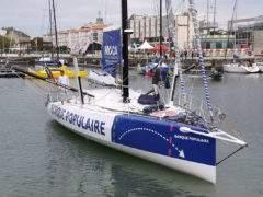 Le voilier de course Banque Populaire