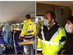 Patients à bord du TGV (Twitter CHR Metz-Thionville)