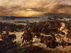 la bataille de Nancy par Delacroix (Musée des Beaux-Arts de Nancy)