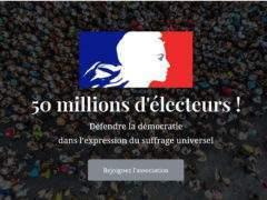 50 millions d'électeurs