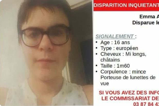 Disparition inquiétante (Twitter)