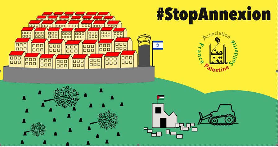 France Palestine Solidarité appelle à un rassemblement, le 27 juin à Nancy