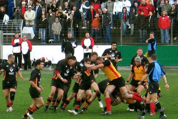 Rugby :Allemagne contre Belgique