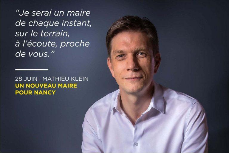 Mathieu Klein maire de Nancy (twitter)