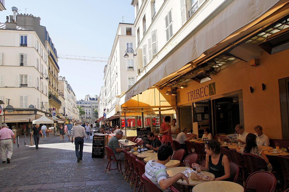 Les terrasses parisiennes contestent les prix de voirie (Photo Wikimédia Commons)