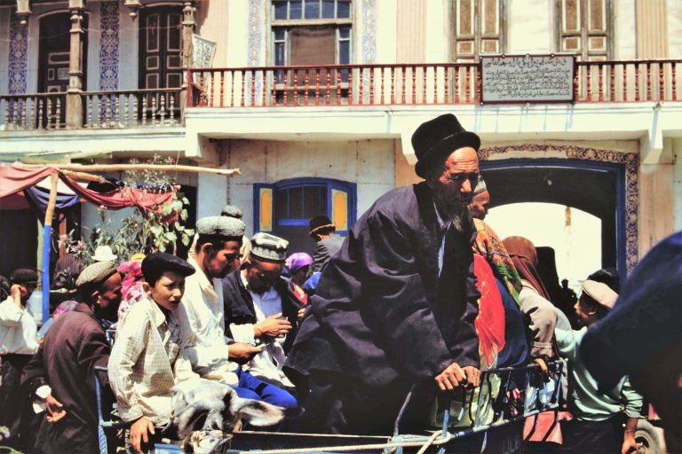 Chez les Ouïghours Taklamakan 1992 (DR)