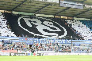 Match RCSA contre Amiens en 2016