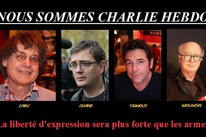 Hommage à CHarlie Hebdo (wikimedia commons)