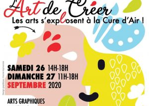 Les Arts s'exposent à la Cure d'Air (affiche)