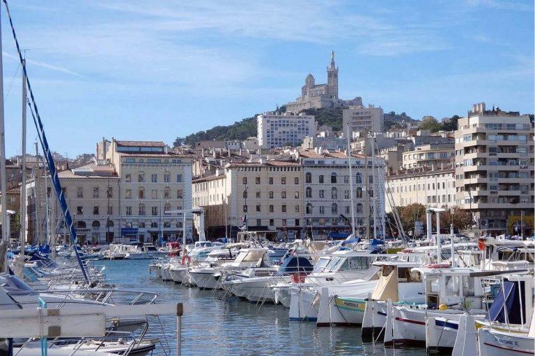 Marseille : le Vieux Port et Notre-Dame