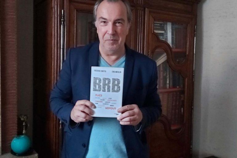 Frédéric Crotta, co-auteur de BRB avec Eric Merlen (DR)